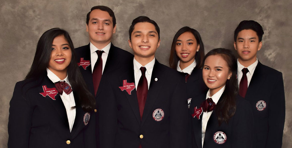 2017-2018 Texas HOSA State Officers Cropped