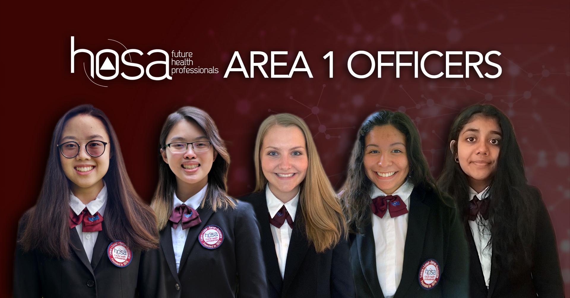 hosa area 1 officers