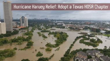 Hurricane Harvey Relief: Adopt a Texas HOSA Chapter