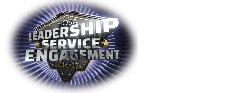 HOSA 2016-2017 Theme Logo