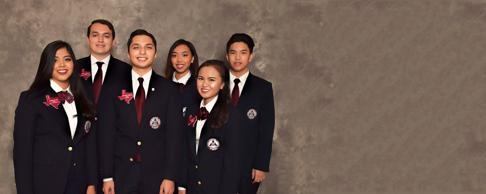 2017-2018 Texas HOSA State Officer Team Background