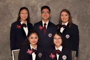 Texas HOSA 2017-2018 Area 1 Officers