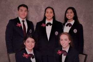 Texas HOSA 2017-2018 Area 4 Officers