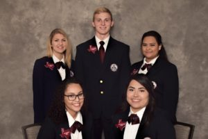 Texas HOSA 2017-2018 Area 6 Officers