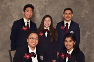 Texas HOSA 2017-2018 Area 7 Officers