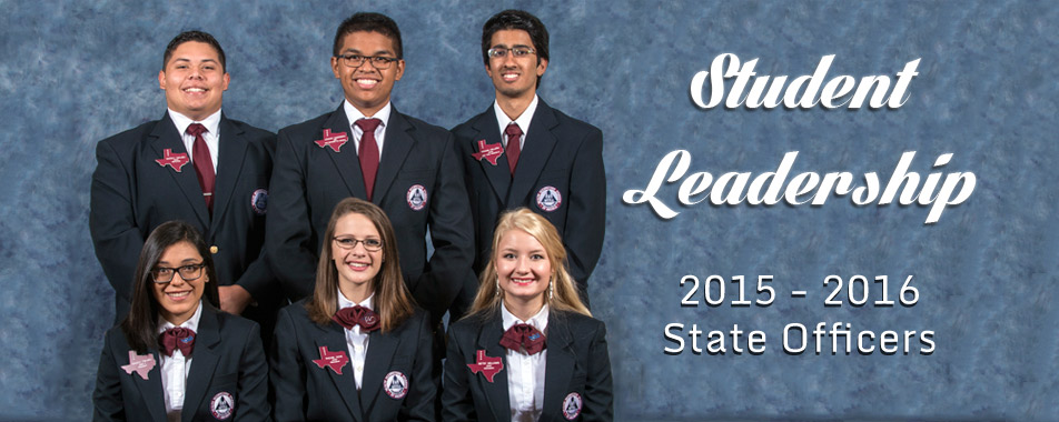 2015-2016 Texas HOSA State Officers