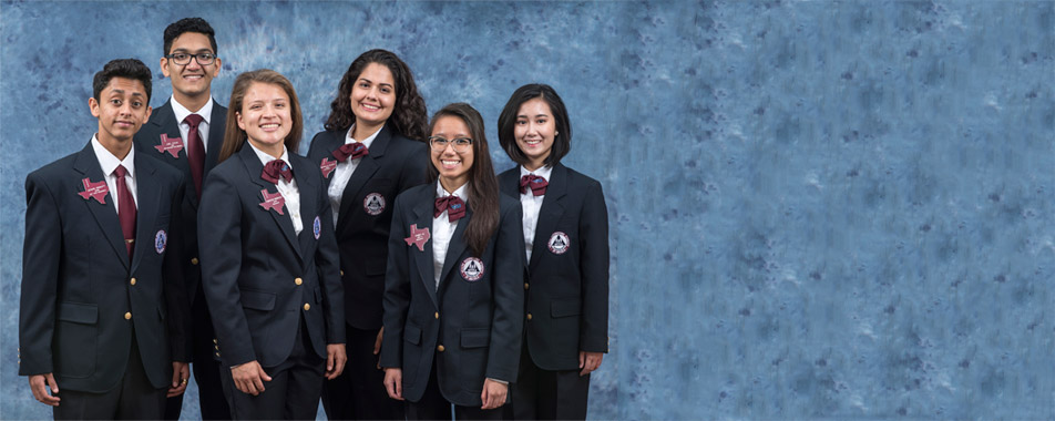 2016-2017 Texas HOSA State Officers Background