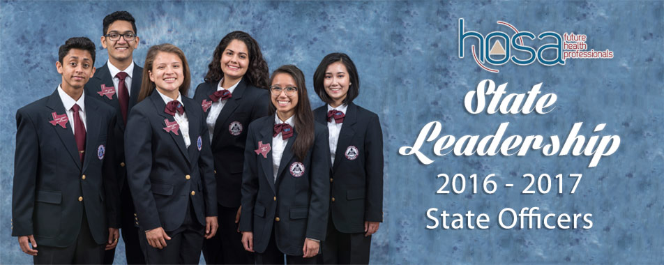 2016-2017 Texas HOSA State Officers